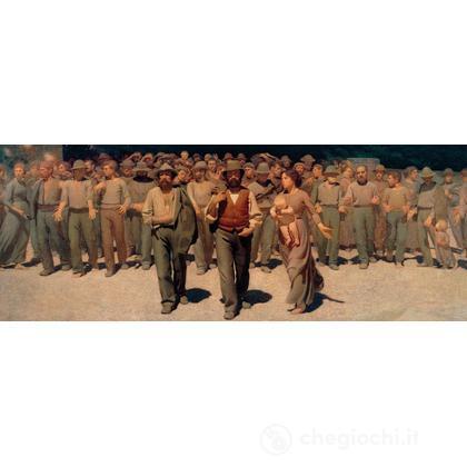 Giuseppe Pellizza da Volpedo: Il Quarto Stato (19006)
