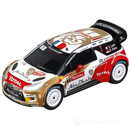 "Auto pista Carrera Citroën DS3 WRC ""Citroën Total Abu Dhabi, No.1"" (20064006)"