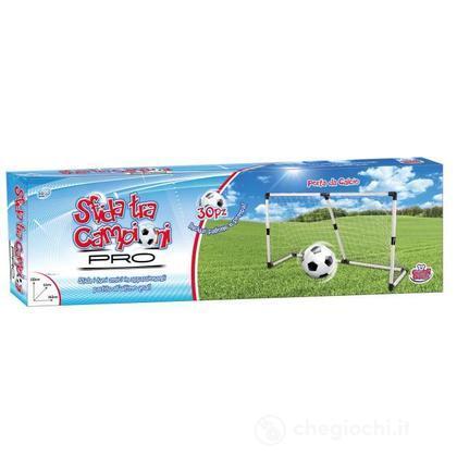 Porta da calcio con palla e pompa (GG43006)