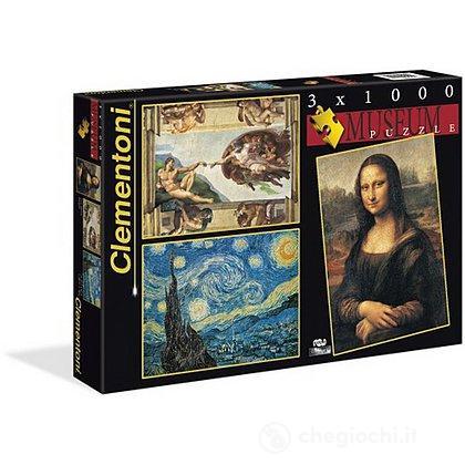 Puzzle 3x1000 Museum (08006)