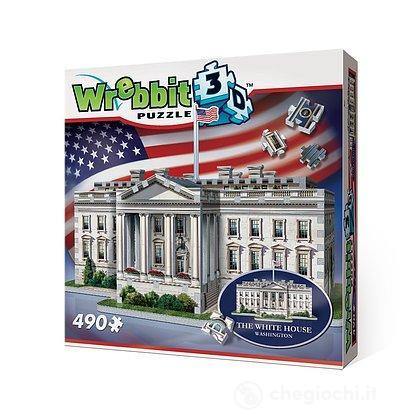 Casa Bianca White House (Puzzle 3D 490 Pz)
