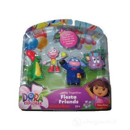 Amici Dora Festa compleanno (Y1007)