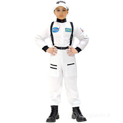 Costume Astronauta Bianco 140 cm (11007)