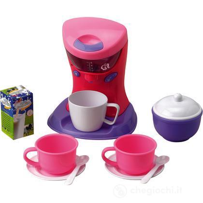 Macchina del caffè con accessori