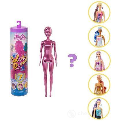 Barbie Color Reveal Serie Metallic (GTR93)