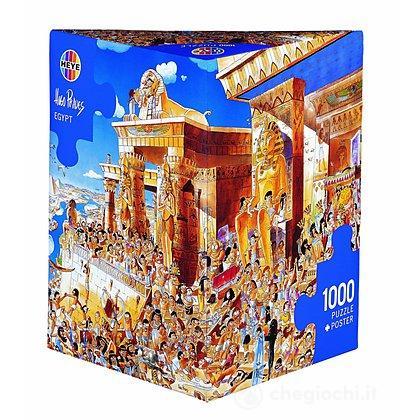 Puzzle 1000 Pezzi Triangolare - Egitto