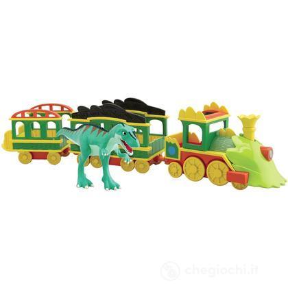 Dino Train Il Treno di Laura con luci e suoni (GG02008)