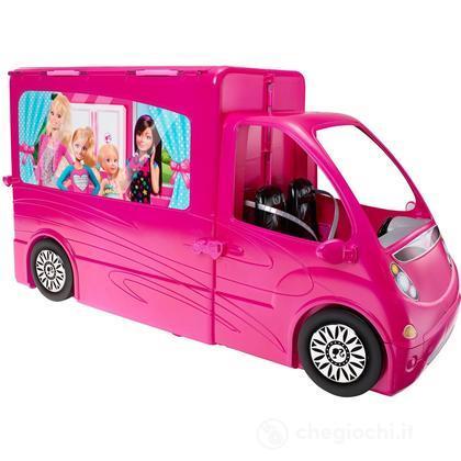Camper di Barbie + Barbie e Ken (CLC33)