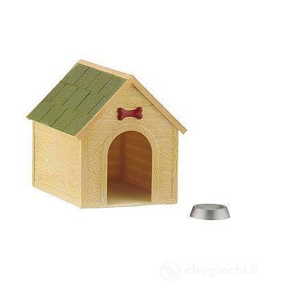 Cani - Cuccia con ciotola (65009)