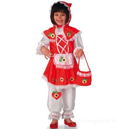 Costume Cappuccetto Rosso taglia III (68009)