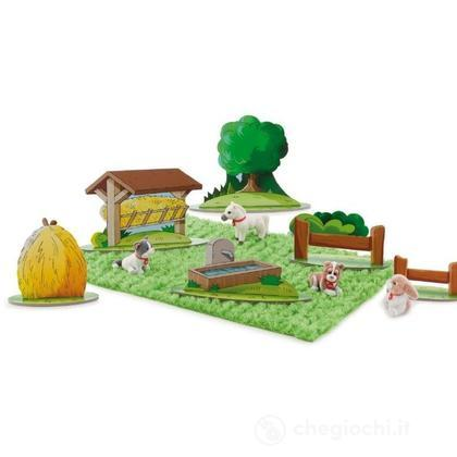 Play set floccato fattoria (31009)