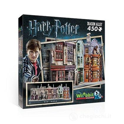 Harry Potter - Diagon Alley (Puzzle 3D 450 Pz)