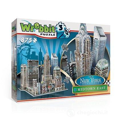 New York Collection - Midtown East (Puzzle 3D 875 Pz)