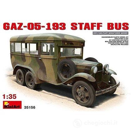 Gaz 1 193 Art Veicolo 35ma35156Mini Bus 05 Staff On0wvm8N
