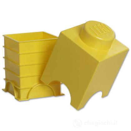 "Scatola da ""1"" gialla"