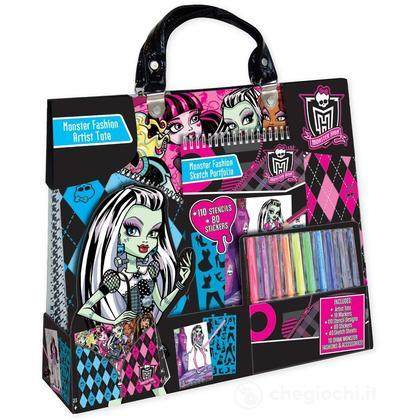 Monster High set da disegno Artisttote Compact Portofolio Set (FA64012)