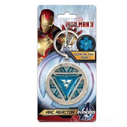 Marvel: Iron Man - Arc Reactor Colour Pewter (Portachiavi)