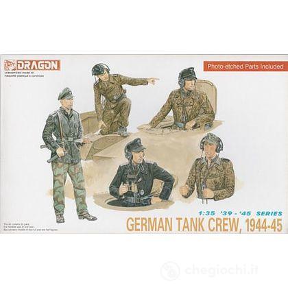 Equipaggio carro armato tedesco 1944/45 scala 1/35 (DR6014)