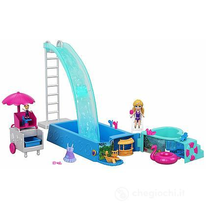 Polly Pocket Cofanetto festa in piscina (FTP75)