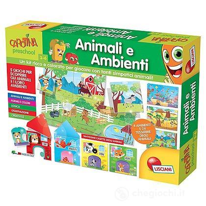 Carotina Maxi Animali e Ambienti (60146)