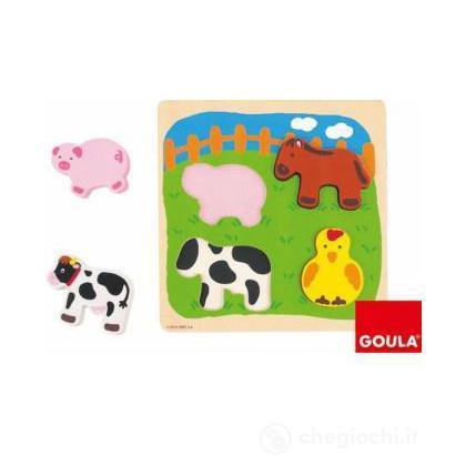 Puzzle Animali Fattoria (53014)