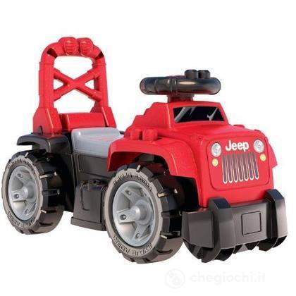 Mega Bloks Jeep 3-in-1 Ride-On (Rossa) (81015U)