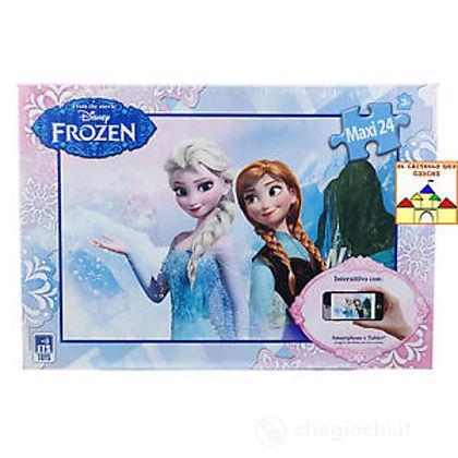 Maxi puzzle interattivo Frozen 24 pezzi (51015)