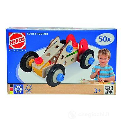 Heros Constructor 50 pezzi costruibile quad, auto formula uno, auto (100039016)