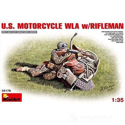 U.S. Motocicletta Wla con fuciliere. Scala 1/35 (MA35179)