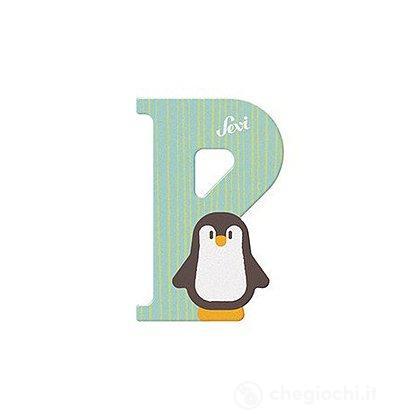 Lettera P Pinguino (83016)