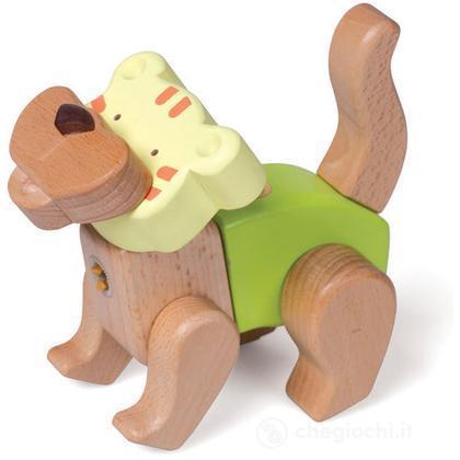 Tigre in legno (EQ33569)