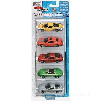 Set da 5 automobiline 1:64 (15017)
