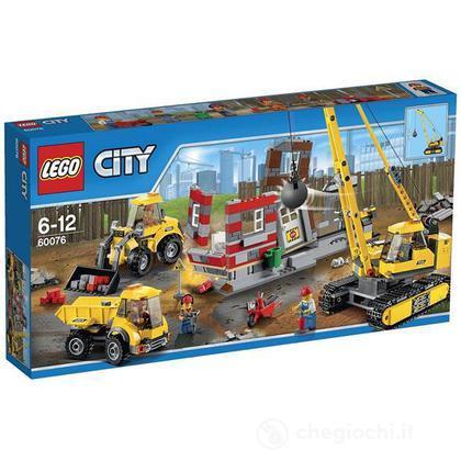 Cantiere da demolizione - Lego City Demolition (60076)