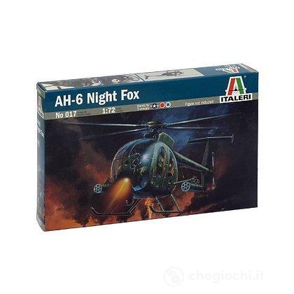 Elicottero AH-6 night fox 1/72 (IT0017)