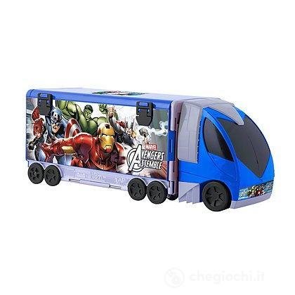 Avengers playset camion con mezzi (390171)