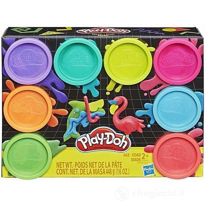 Play-Doh 8 Pack Neon 8 Barattoli