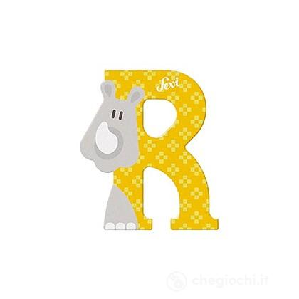 Lettera R Rinoceronte (83018)