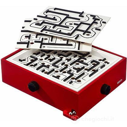 Brio gioco del labirinto e basi, rosso (34020)