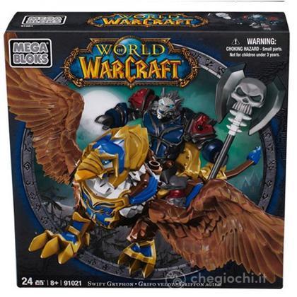 Personaggi da montare Warcraft Swift Gryphon & Graven (Alliance Worgen Death Knight) (91021)