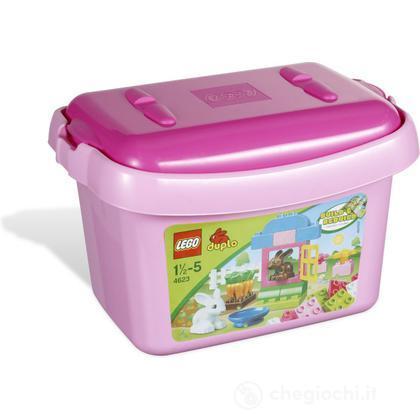 LEGO Duplo Mattoncini - Secchiello mattoncini rosa LEGO Duplo (4623)