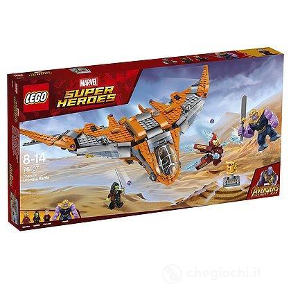 Thanos: battaglia finale - Lego Super Heroes (76107)