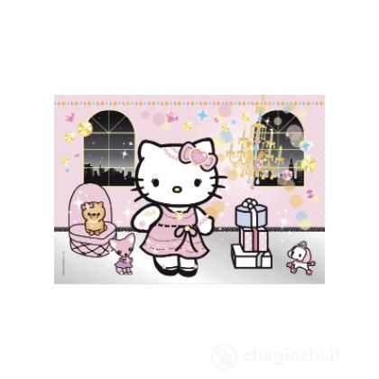 Puzzle jewels 104 pezzi - Hello Kitty moda