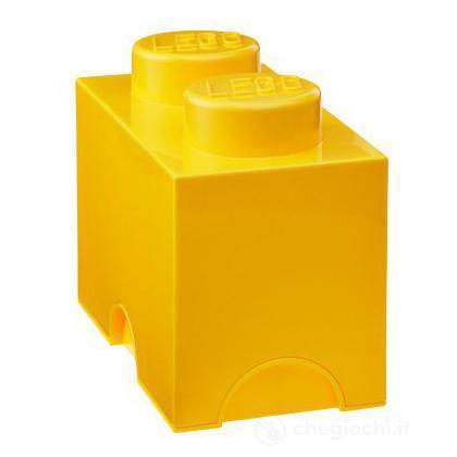 "Scatola da ""2"" gialla"
