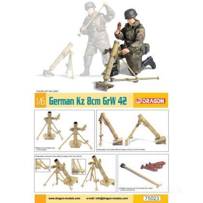 German Kz 8 Cm Grw 42 Mortar