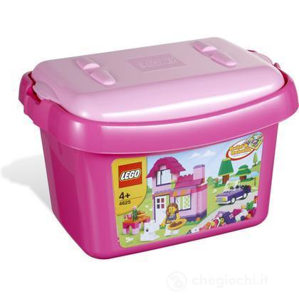LEGO Mattoncini - Secchiello mattoncini rosa  (4625)