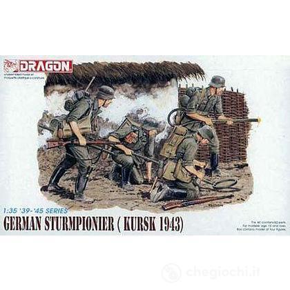 German sturmpionier (KURSK 1943) 1/35 (DR6024)
