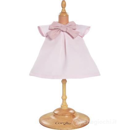 Vestito chic rosa (W9369)
