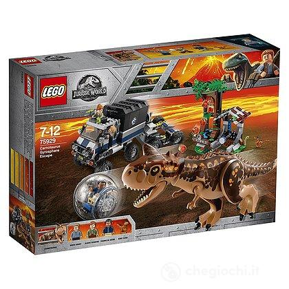 World75929Set Fuga Lego Jurassic Carnotaurus Gyrosphere cTu31lFKJ