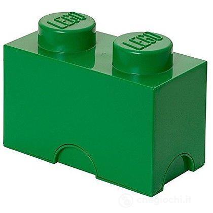 Contenitore LEGO Brick 2 Verde