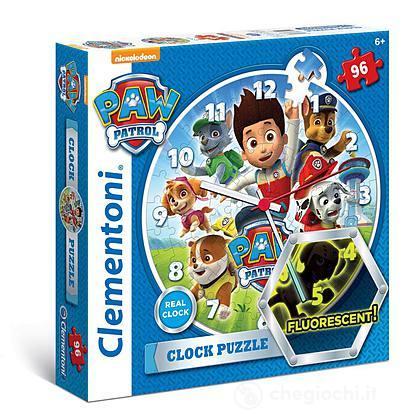 Clock puzzle Paw Patrol